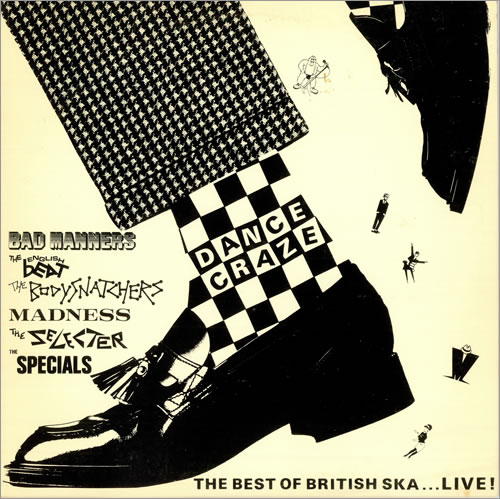 Various-Mod & 2-Tone Dance Craze The Best Of British Ska...Live! vinyl LP album (LP record) US MVALPDA487056