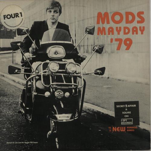 Various-Mod & 2-Tone Mods Mayday '79 - Stickered sleeve vinyl LP album (LP record) UK MVALPMO599274