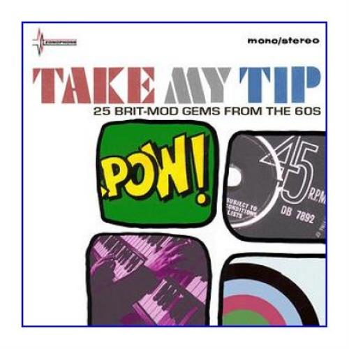 Various-Mod & 2-Tone Take My Tip [25 British Mod Artefacts From The 60's] CD album (CDLP) UK MVACDTA402133
