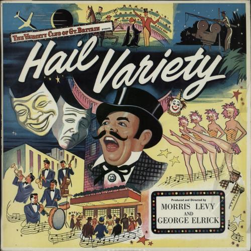 Various-Music Hall & Variety Hail Variety vinyl LP album (LP record) UK VMHLPHA656592