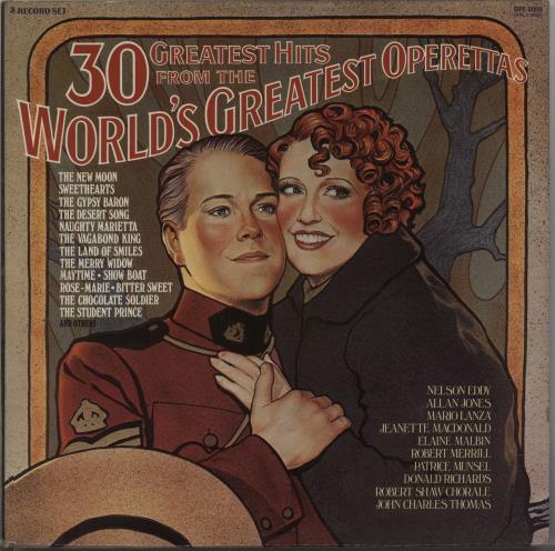 Various-Opera 30 Greatest Hits From The World's Greatest Operettas 2-LP vinyl record set (Double Album) UK VC82LGR617464