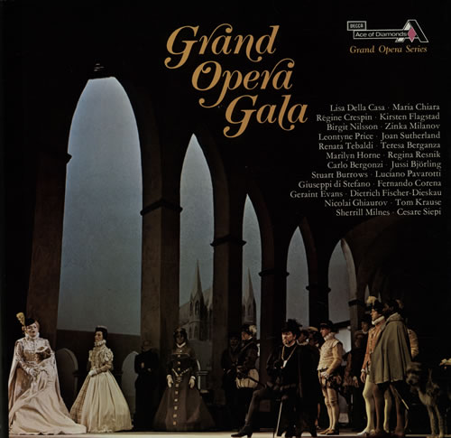 Various-Opera Grand Opera Gala Vinyl Box Set UK VC8VXGR642009