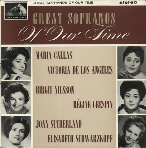Various-Opera Great Sopranos Of Our Time vinyl LP album (LP record) UK VC8LPGR743522