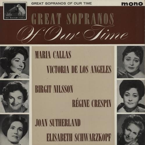 Various-Opera Great Sopranos Of Our Time vinyl LP album (LP record) UK VC8LPGR758496