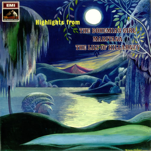 Various-Opera Highlights From The Bohemian Girl, Maritana & The Lily Of Killarney vinyl LP album (LP record) UK VC8LPHI532784