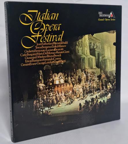 Various-Opera Italian Opera Festival Vinyl Box Set UK VC8VXIT766754