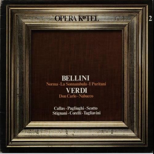 Various-Opera Opera K-Tel vinyl LP album (LP record) Italian VC8LPOP607853