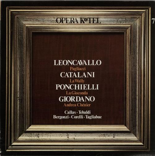 Various-Opera Opera K-Tel vinyl LP album (LP record) Italian VC8LPOP637691
