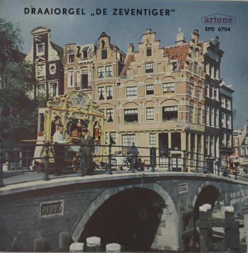 "Various-Organs Draaiorgel ""De Zeventiger"" 7"" vinyl single (7 inch record) Dutch OGN07DR759732"