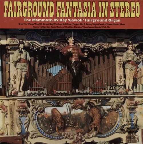Various-Organs Fairground Fantasia In Stereo vinyl LP album (LP record) UK OGNLPFA568419