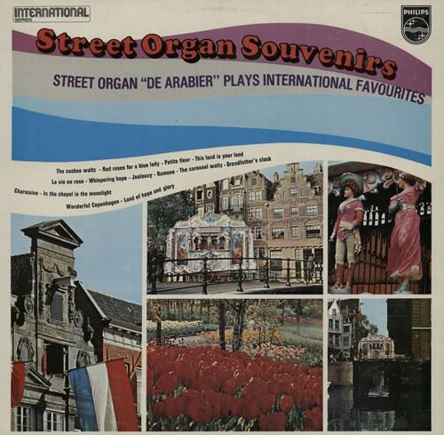 Various-Organs Street Organ Souvenirs - De Arabier vinyl LP album (LP record) UK OGNLPST568465