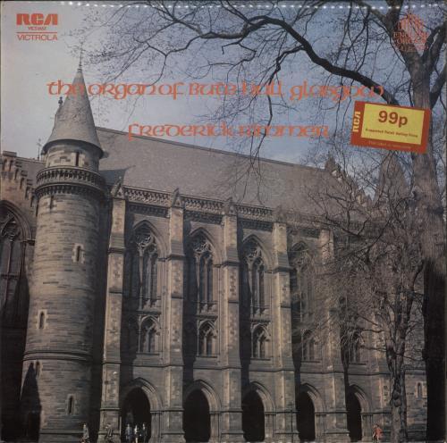 Various-Organs The Organ Of Bute Hall Glasgow vinyl LP album (LP record) UK OGNLPTH771859