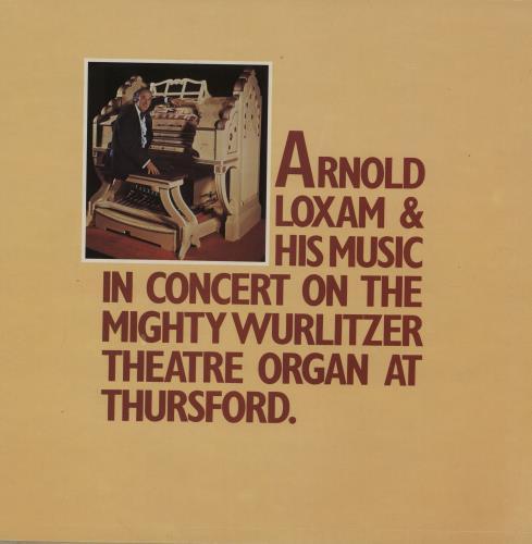 Various-Organs The Organs Of Thursford -The Mighty Wurlitzer vinyl LP album (LP record) UK OGNLPTH763362