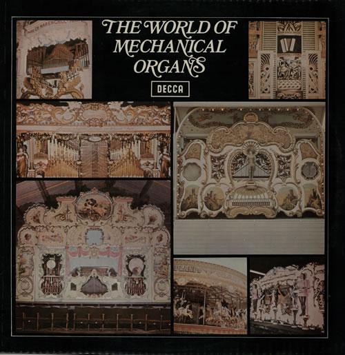 Various-Organs The World Of Mechanical Organs vinyl LP album (LP record) UK OGNLPTH568487