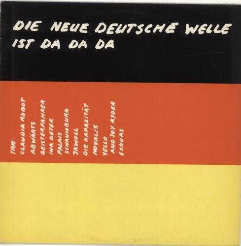 Was Ist Vinyl various pop die neue deutsche welle ist da da da uk vinyl lp album