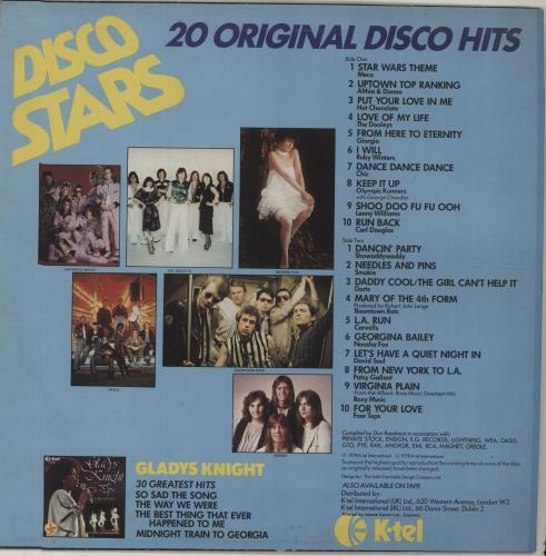 Various-Pop Disco Stars vinyl LP album (LP record) UK 7VALPDI298092