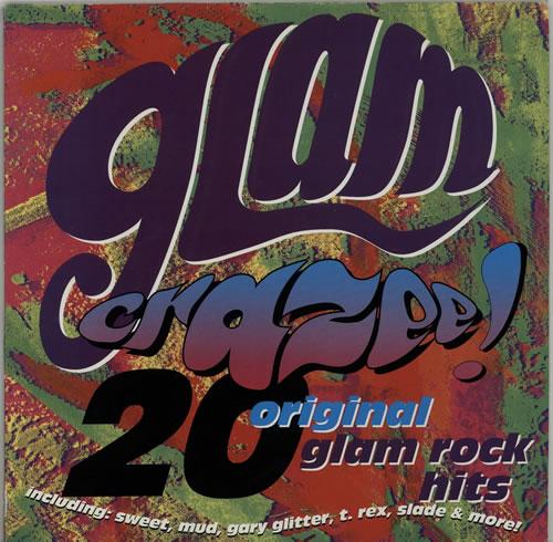 Various-Pop Glam Crazee vinyl LP album (LP record) UK 7VALPGL638078