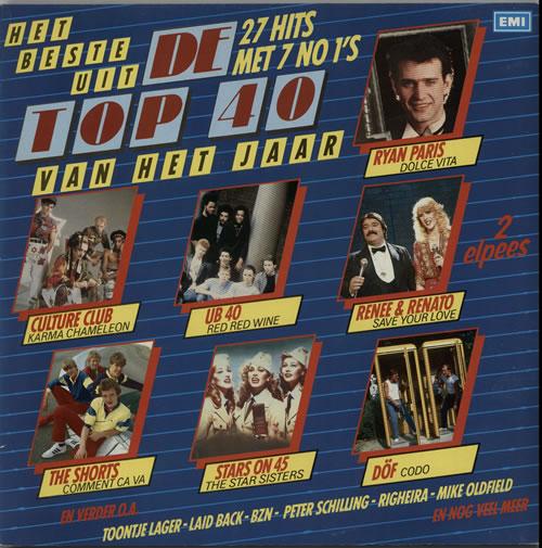 Various-Pop Het Beste Uit De Top 40 Van Het Jaar 2-LP vinyl record set (Double Album) Dutch 7VA2LHE628047