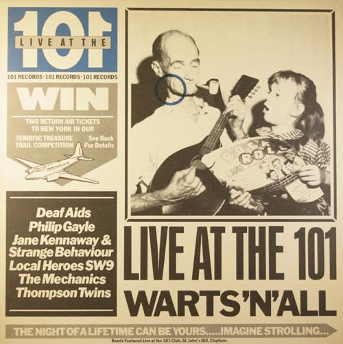 Various-Pop Live At The 101 vinyl LP album (LP record) UK 7VALPLI194679