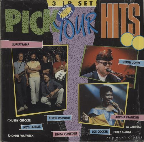 Various-Pop Pick Your Hits 3-LP vinyl record set (Triple Album) US 7VA3LPI686697