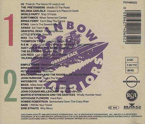 Warriors Of The Rainbow 2 Vietsub: Various-Pop Rainbow Warriors German 2 CD Album Set (Double