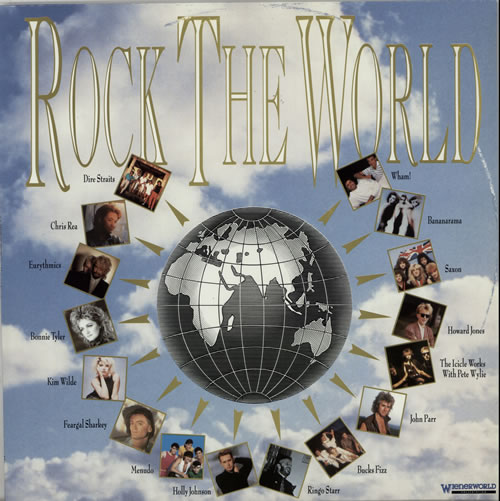 Various-Pop Rock The World vinyl LP album (LP record) Finnish 7VALPRO630045