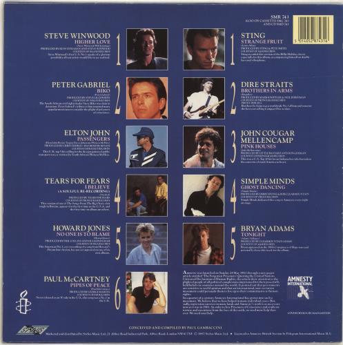 Various Pop Spirit Of Peace Uk Vinyl Lp Album Lp Record 519850