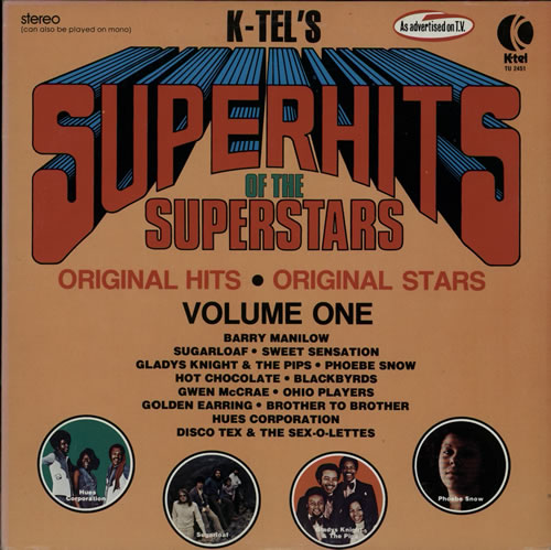 Various-Pop Superhits Of The Superstars Volume One 2-LP vinyl record set (Double Album) US 7VA2LSU628045