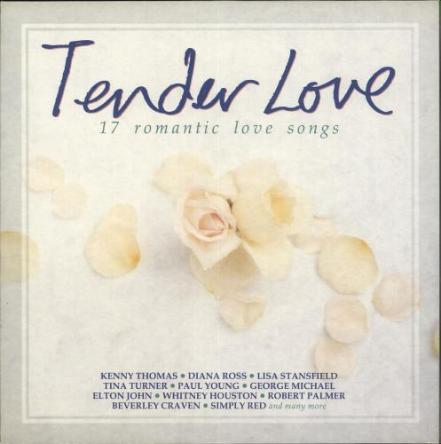 Various-Pop Tender Love vinyl LP album (LP record) UK 7VALPTE718964