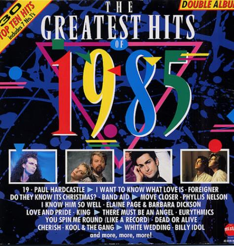 Various Pop The Greatest Hits Of 1985 Uk 2 Lp Vinyl Record
