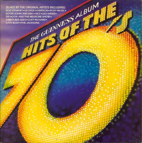 Various-Pop The Guinness Album - Hits Of The 70's UK 2-LP