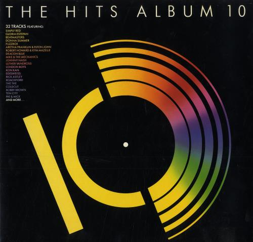 Various-Pop The Hits Album 10 2-LP vinyl record set (Double Album) UK 7VA2LTH559342