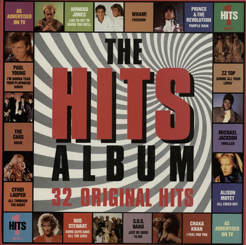 Various pop the hits album uk 2 lp vinyl record set for Best house hits