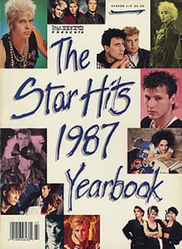 Various-Pop The Star Hits 1987 Yearbook book US 7VABKTH352706