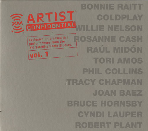 Various-Pop XM Artist Confidential Vol 1 CD album (CDLP) US 7VACDXM395315