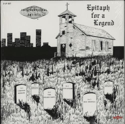 Various-Prog & Psych Epitaph For A Legend 2-LP vinyl record set (Double Album) UK LSD2LEP762905
