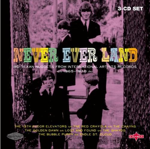 Various-Prog & Psych Never Ever Land 3-CD album set (Triple CD) UK LSD3CNE423779