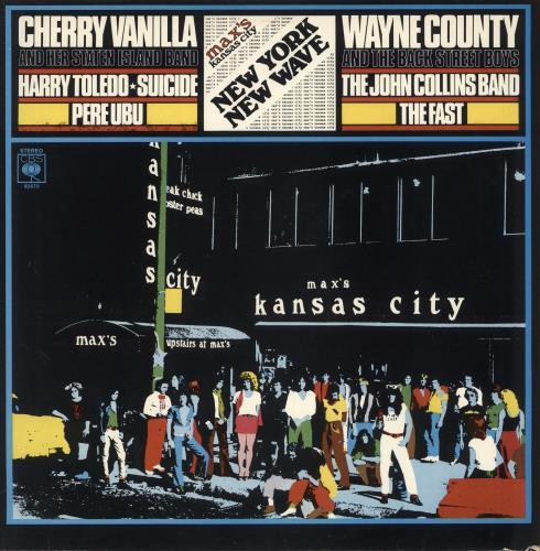 Various-Punk & New Wave Max's Kansas City vinyl LP album (LP record) UK PVALPMA516270