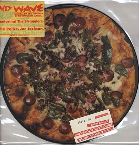 Various-Punk & New Wave No Wave picture disc LP (vinyl picture disc album) US PVAPDNO50426