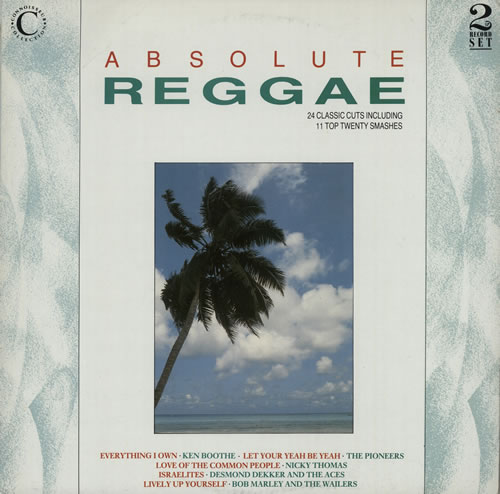 Various-Reggae & Ska Absolute Reggae 2-LP vinyl record set (Double Album) UK V-A2LAB559834