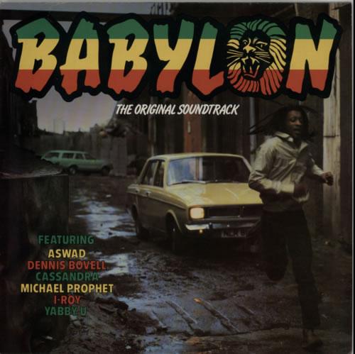 Various-Reggae & Ska Babylon - The Original Soundtrack vinyl LP album (LP record) UK V-ALPBA314107