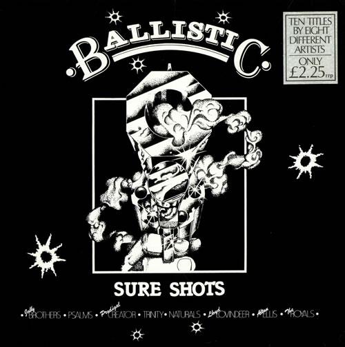 Various-Reggae & Ska Ballistic Sure Shots vinyl LP album (LP record) UK V-ALPBA507368