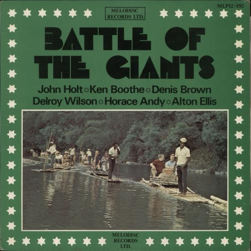 Various-Reggae & Ska Battle Of The Giants vinyl LP album (LP record) UK V-ALPBA727133