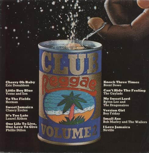 Various-Reggae & Ska Club Reggae: Volume 2 vinyl LP album (LP record) UK V-ALPCL723225