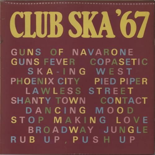 Various-Reggae & Ska Club Ska '67 vinyl LP album (LP record) UK V-ALPCL554282