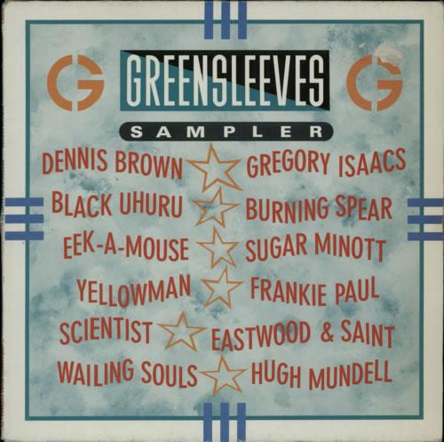 Various-Reggae & Ska Greensleeves Sampler vinyl LP album (LP record) UK V-ALPGR609676