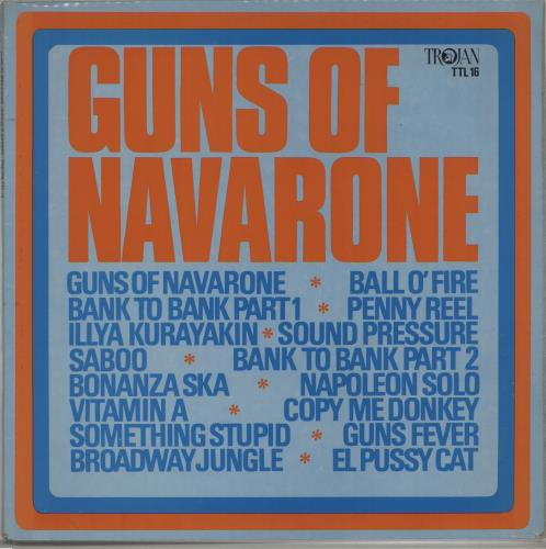 Various-Reggae & Ska Guns Of Navarone vinyl LP album (LP record) UK V-ALPGU670821