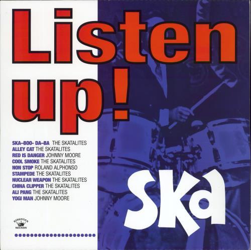 Various-Reggae & Ska Listen Up! vinyl LP album (LP record) UK V-ALPLI772322