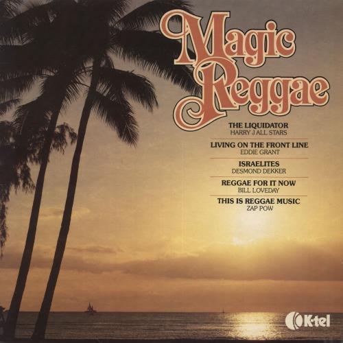 Various-Reggae & Ska Magic Reggae vinyl LP album (LP record) UK V-ALPMA554726