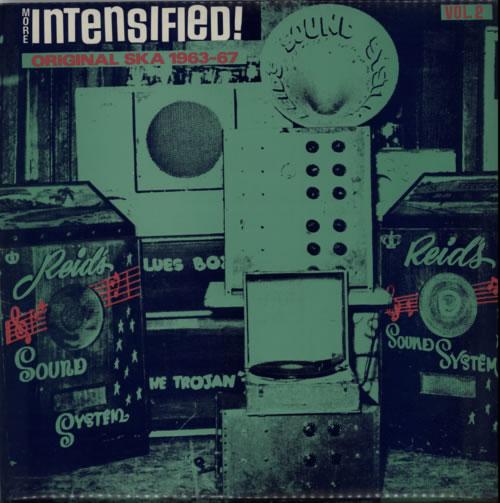 Various-Reggae & Ska More Intensified! Volume 2 Original Ska 1963-1967 vinyl LP album (LP record) UK V-ALPMO613466